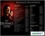 The Da Vinci Code - Worldwide Release Dates