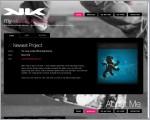 My Kinetic Kreations - Web Design in Costa Rica, online portfolio of Neftali Loria
